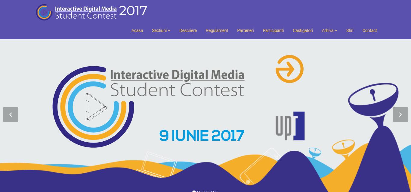 Interactive Digital Media Student Contest