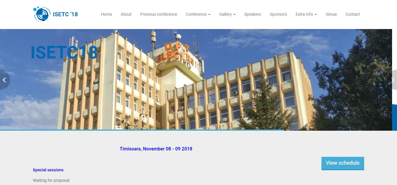 International Symposium on Electronics and Telecommunications